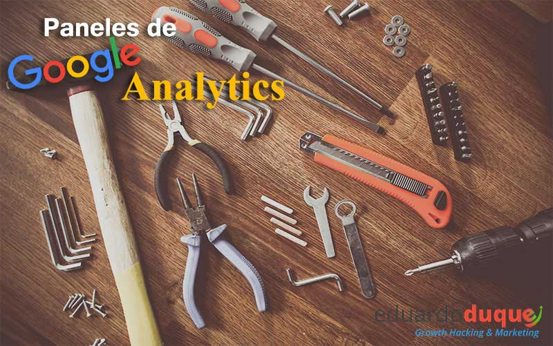 paneles google analytics