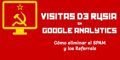 visitas de Rusia en Google Analytics