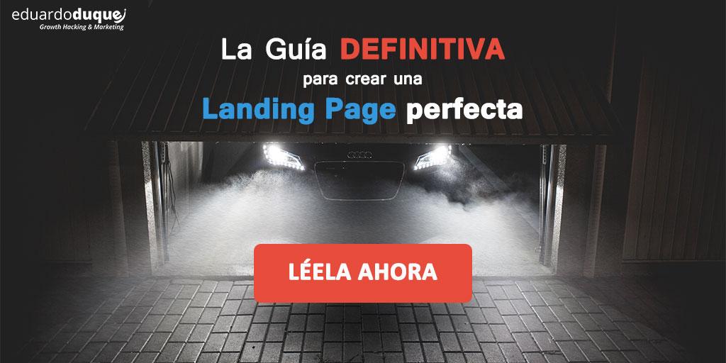 guia landing page