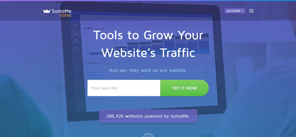 SumoMe Landing Page