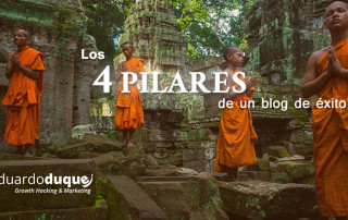 los 4 pilares de un blog