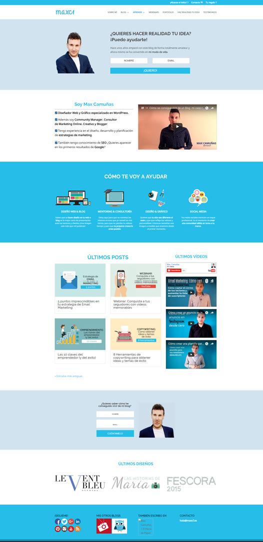 Max Camuñas Homepage