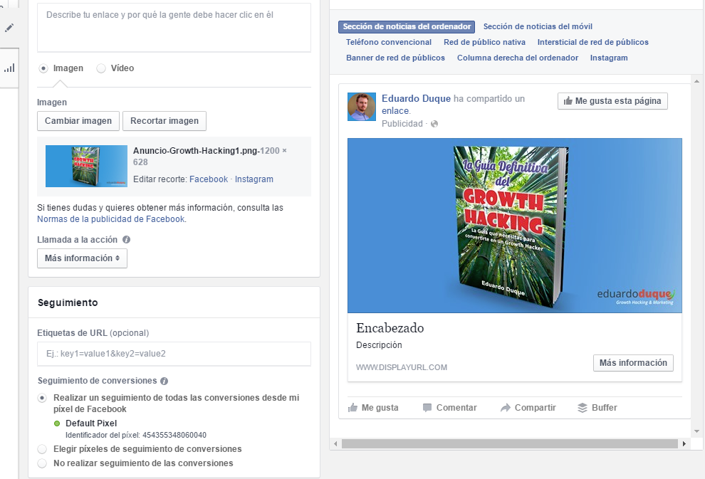anuncio facebook ads 3