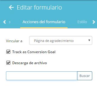 wishpond formulario